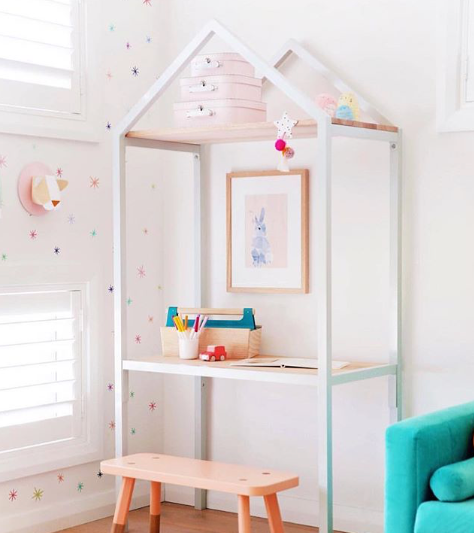 Playrooms Are Meant To Be Fun And Playful And When A Fun Color Palette Is  Used It Invokes Imagination. This Beautifully Done Play Space By ...
