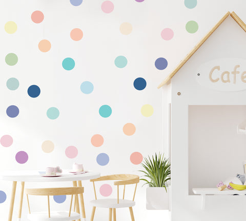 Medium Ice Cream Dots - Wall Decal