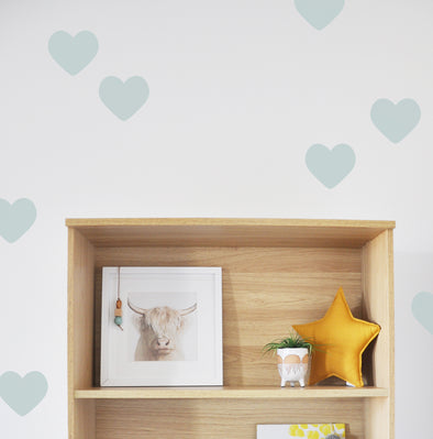 "Hearts  3"" Wall Decal"