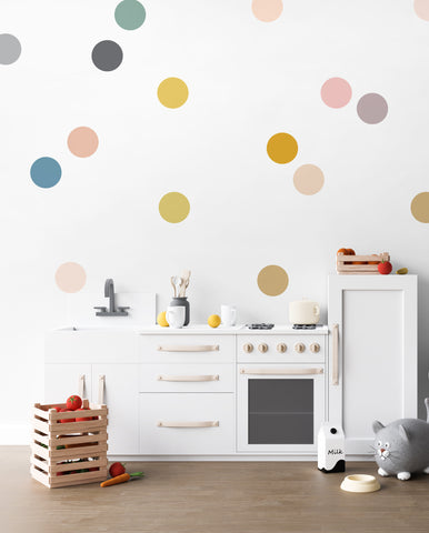 Medium Happy Dots - Wall Decal