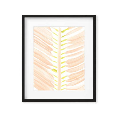 Summer Palm Art Print 8x10