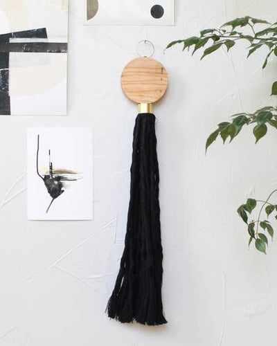 Wall Hanging - Ash Leda Wall Tassel - Wall Decor
