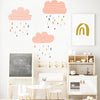 Colorful Rains - WALL DECAL