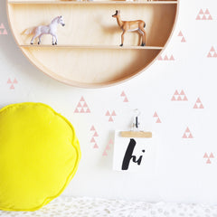 Extra Tiny Triangles - WALL DECAL