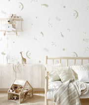 Hand Sketched Shooting Stars - Wall Decals