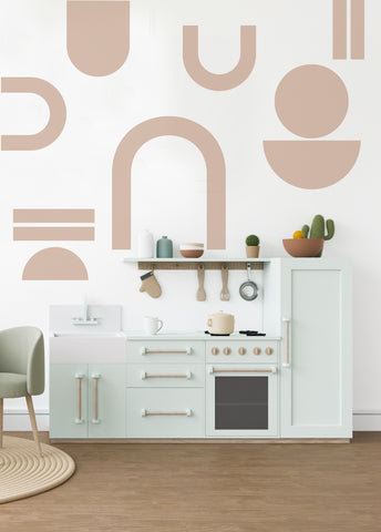 Extra Large Geo Shapes - Wall Decals