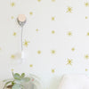 Marker Starbursts - WALL DECAL