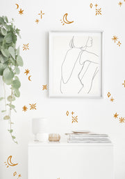 Mystical Stars - Wall Decals