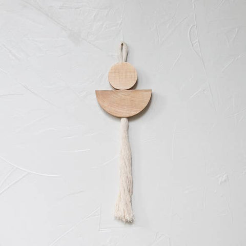 Wall Hanging - Maple Essie Small Wall Tassel - Wall Decor