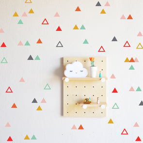 Playful Triangle Combo  - WALL DECAL