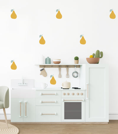 Petite Pears Wall Decals