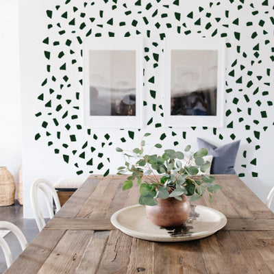 Square Terrazzo- Solid Color  - Wall Decals