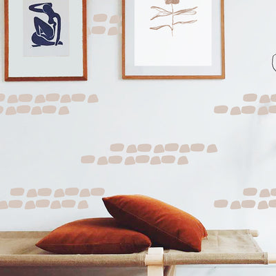 Stone Stamp   - Wall Decals