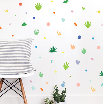 Desert Confetti Colorful Compilation - WALL DECAL