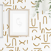 Arches and Lines - Wall Decals