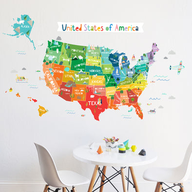 Bright USA   - WALL DECAL