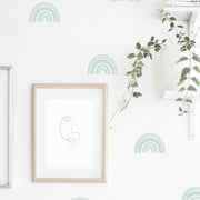 Boho Rainbows - Wall Decals