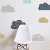 GEO CLOUDS - Childrens wall decal