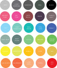 Extra Tiny Solid Space Compilation Solid - WALL DECAL