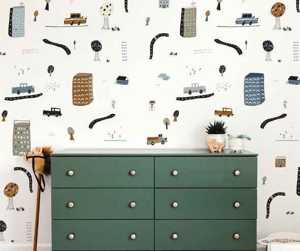 City Vibes  - Wall Decals