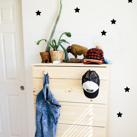 Classic Stars Decals - WALL DECAL