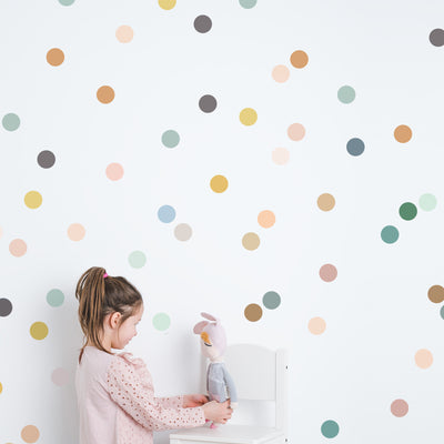Colors on Colors Tiny Dots - Wall Decal