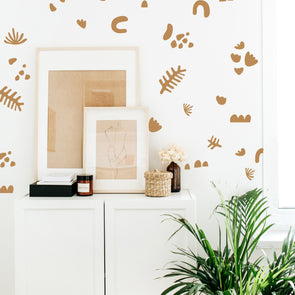 Construction Paper Cut Outs  - Wall Decals
