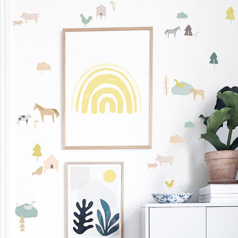 Down on the Farm  - Wall Decals