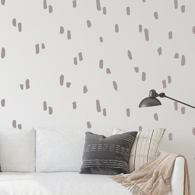 Dragged Stripes - Wall Decals