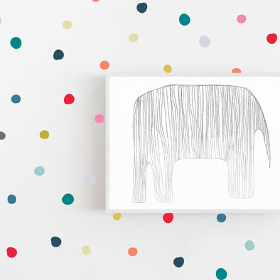 Dreamy Tiny Hand Drawn Dots - Wall Decal