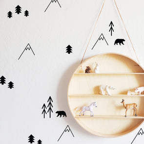 Forest Compilation - WALL DECALS