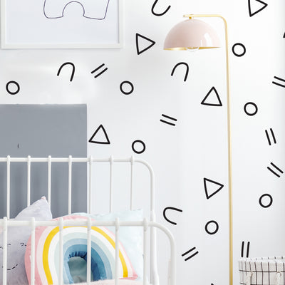 Geo Party  - Wall Decals