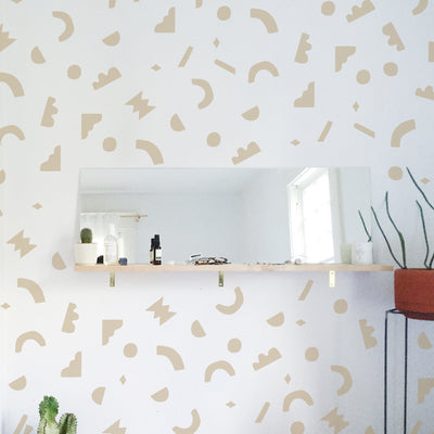 Geo Shape combo - Wall Decals