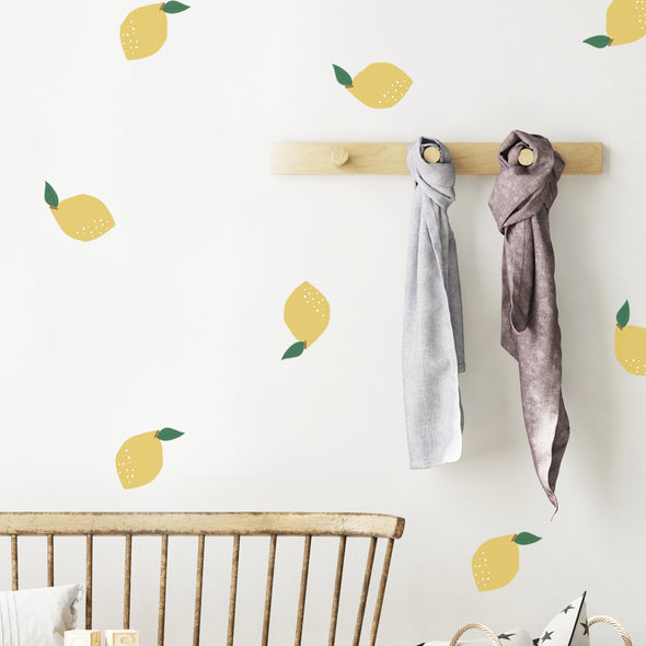 Lemon Squeezy Wall Decals
