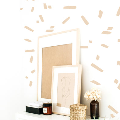 Masking Tape Pieces - Wall Decals