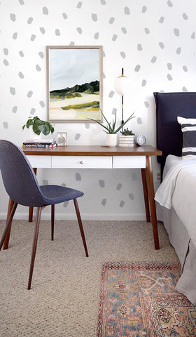 Wall Decal -Large Smudges Confetti - Wall Sticker room decor
