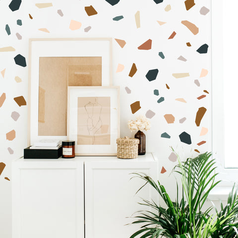 Modern Terrazzo  - Wall Decals
