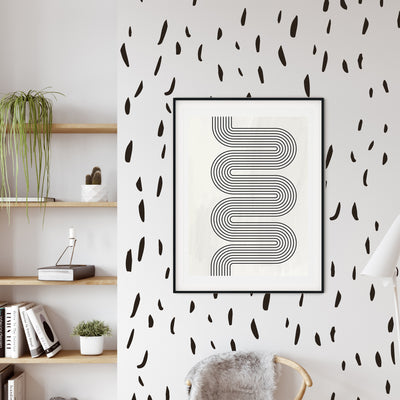 Modern Dashes - Wall Decals