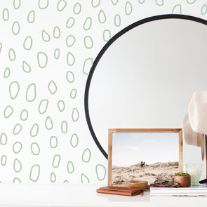 Wall Decal -Open Bubble Dots - Wall Sticker room decor