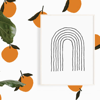 Orange you glad Wall Decals