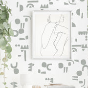 Organic Shape Combo - Wall Decals