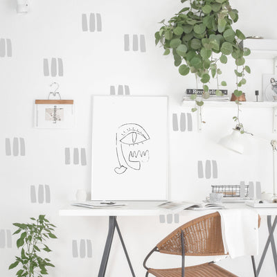 Rectangle Stamp - Wall Decals