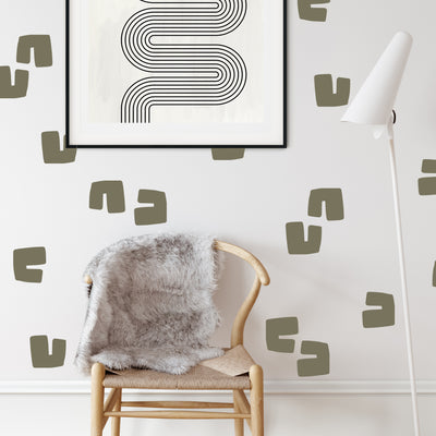 Retro U - Wall Decals