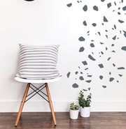 Solid Terrazzo Cut Outs  - Wall Decals