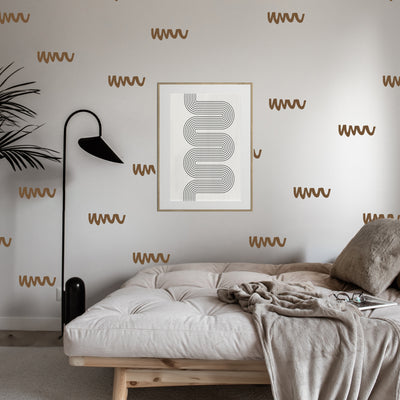 Sophisticate Squiggles - Wall Decals