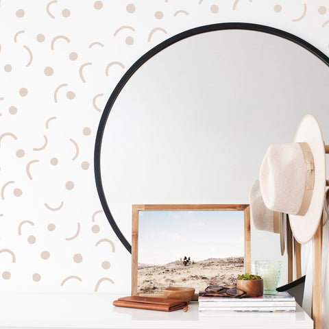 Swoosh Dots combo - Wall Decals