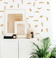 Thick Brush Stoke - Wall Decals