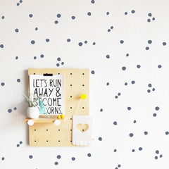 Tiny Hand Drawn Dot - Wall Decals