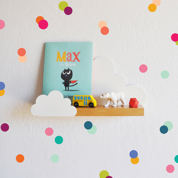 Rainbow Tiny Dots - Wall Decal