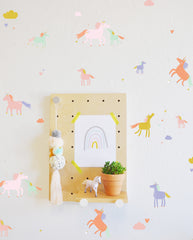 Wall Decal - Tiny Unicorns - wall sticker - room decor